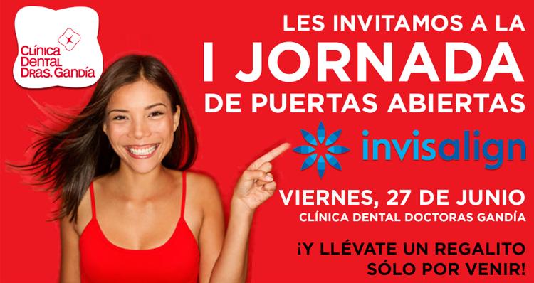 jornada invisalign - clínica dental denia doctoras gandía